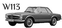 W113 SL, 190SL, 230SL